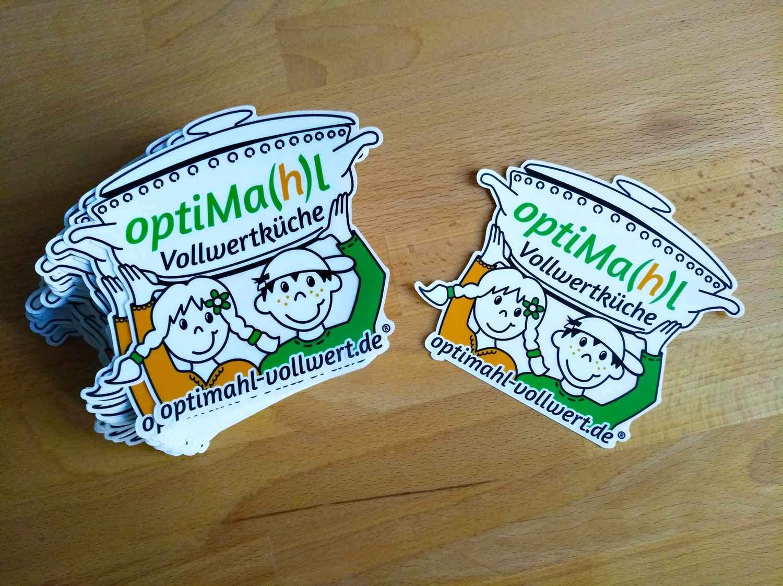 Outdoor-Aufkleber optiMa(h)l