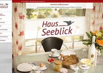 """Ferienwohnung """"Haus Seeblick"""""""