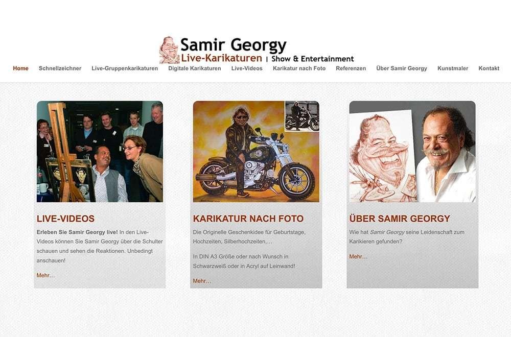 Website samir-georgy.de