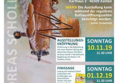 """Plakatgestaltung """"Tierischer Niederrhein"""""""