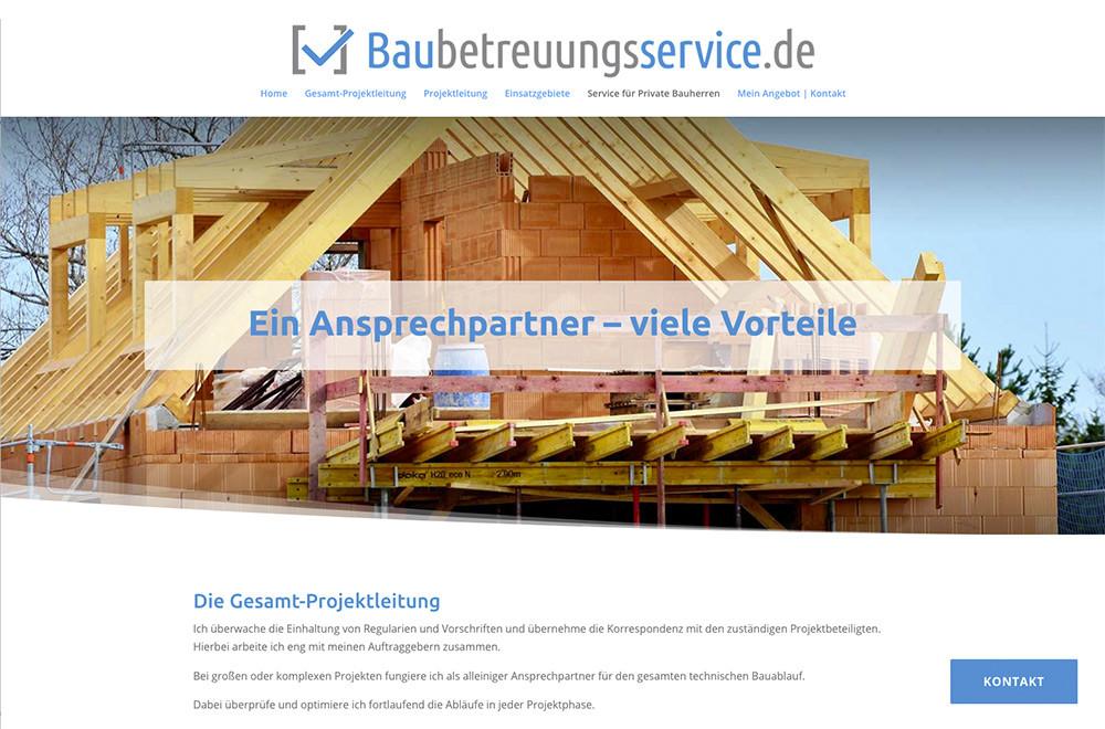 baubetreuungsservice.de geht online!