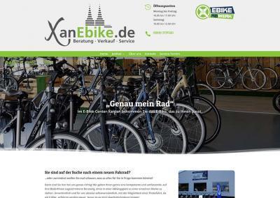 XanEbike.de rollt jetzt auch online!