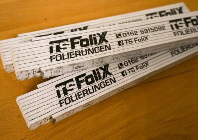 Tollstöcke für TS FoliX