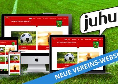 Neue Vereinswebsite für den SSV Rheintreu Lüttingen e.V.