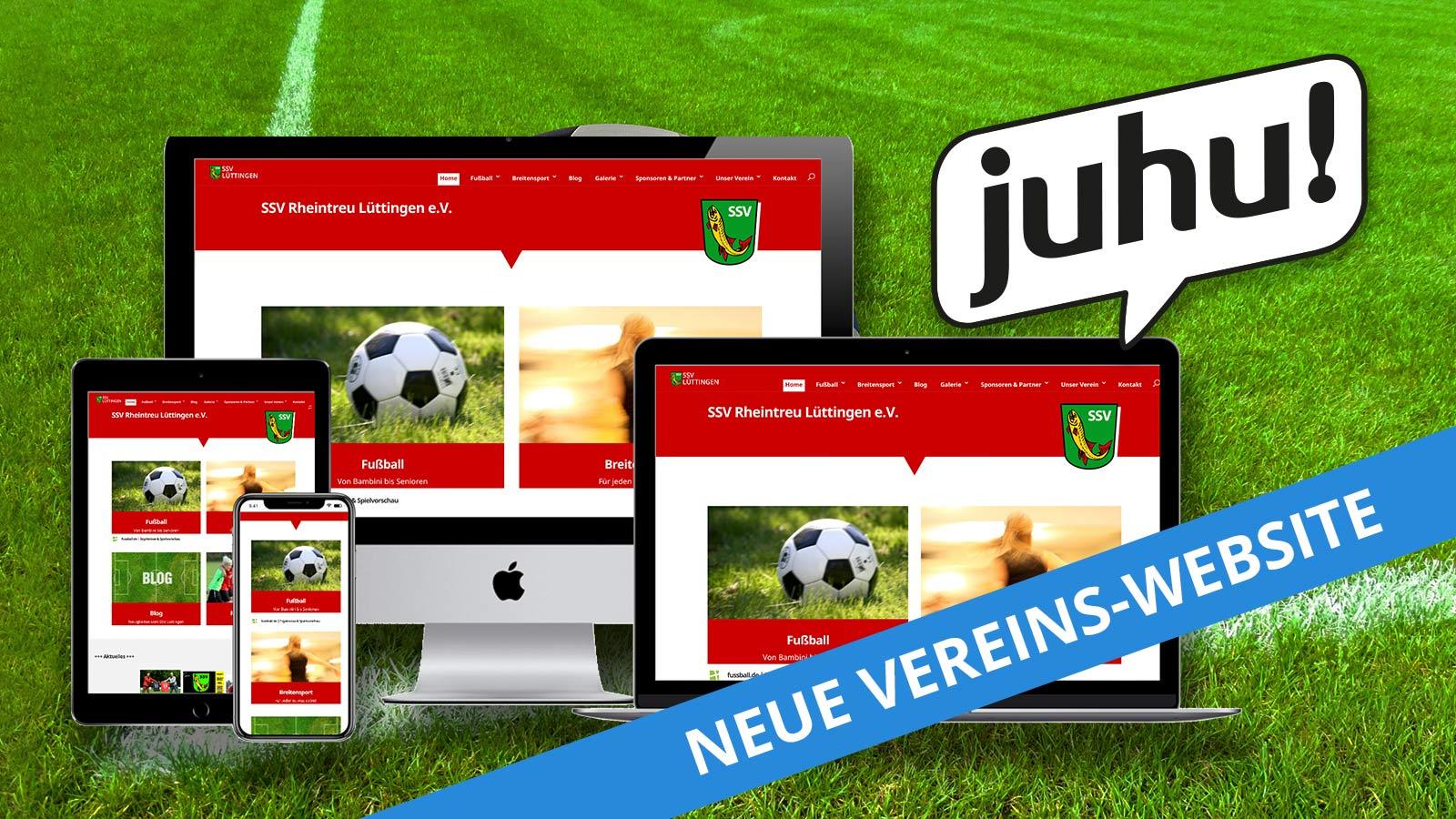 Vereinswebsite SSV Rheintreu Lüttingen e.V.