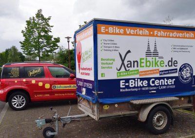 Neuer Anhänger für XanEbike