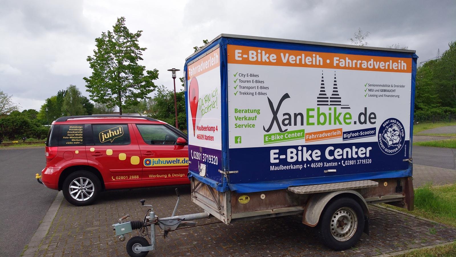 XanEbike Fahrradverleih Xanten